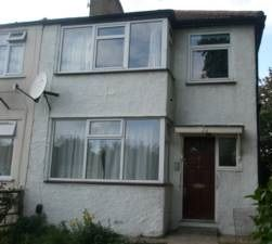 Thumbnail 3 bed terraced house to rent in Brent Park Road, Hendon