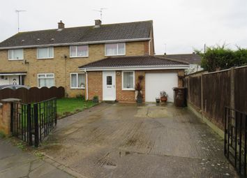Thumbnail 4 bed semi-detached house for sale in Halifax Square, Corby