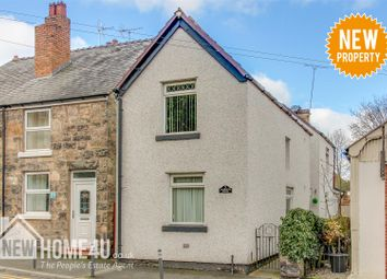 Thumbnail 3 bed end terrace house for sale in Castle Street, Caergwrle, Wrexham