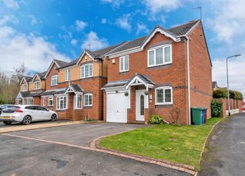Thumbnail 3 bed detached house for sale in Deavall Way, Heath Hayes, Cannock