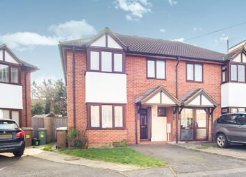 Thumbnail 4 bed semi-detached house for sale in Morley Road, North Cheam, Sutton