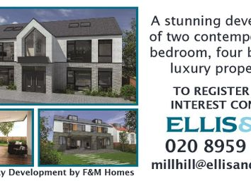 Thumbnail 5 bed semi-detached house for sale in Wise Lane, Mill Hill, London