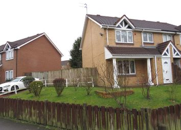 Thumbnail 3 bed semi-detached house for sale in Grenville Drive, Smethwick