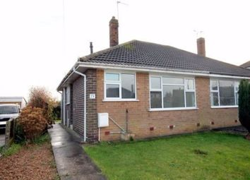 Thumbnail 2 bed semi-detached bungalow to rent in Low Moor Avenue, York