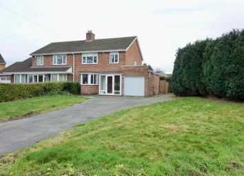 Thumbnail 3 bed semi-detached house for sale in Coleshill Road, Water Orton, Birmingham