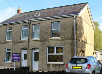 Thumbnail 3 bed semi-detached house for sale in Black Lion Road, Cross Hands, Llanelli