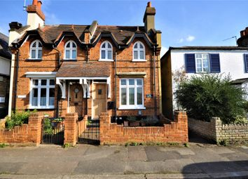 Thumbnail 2 bed semi-detached house for sale in Weston Green, Thames Ditton