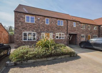 Thumbnail 3 bedroom end terrace house for sale in Stackyard Close, Stilton, Peterborough