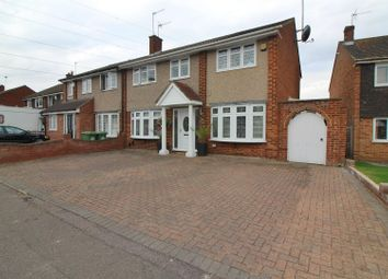 Thumbnail 4 bedroom semi-detached house for sale in Herongate Road, Cheshunt, Herts