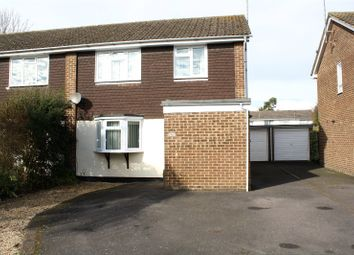 Thumbnail 3 bedroom semi-detached house for sale in Lunds Farm Road, Woodley, Reading, Berkshire