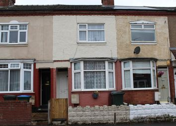 Thumbnail 4 bed terraced house to rent in Kingsland Avenue, Chapelfields, Coventry
