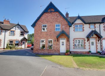 Thumbnail 4 bed end terrace house for sale in Movilla Mews, Newtownards
