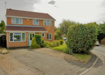 Thumbnail 4 bedroom detached house for sale in Honeycomb Close, Narborough