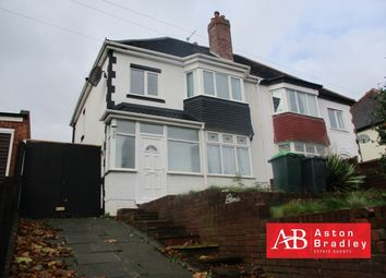 Thumbnail 3 bed semi-detached house to rent in Park Lane, Darlaston
