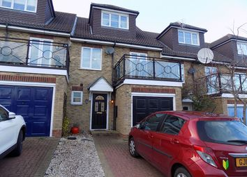 Thumbnail 4 bedroom terraced house for sale in Waterside Lane, Gillingham