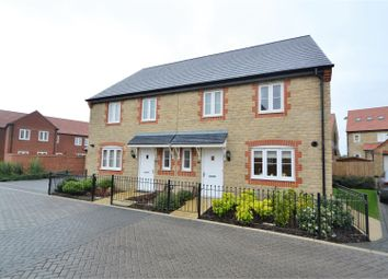 Thumbnail 3 bed semi-detached house for sale in Kempton Close, Chesterton, Bicester