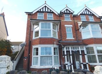 Thumbnail 1 bedroom flat to rent in York Road, Colwyn Bay