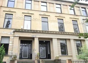 Thumbnail 2 bed flat to rent in Hamilton Drive, Glasgow