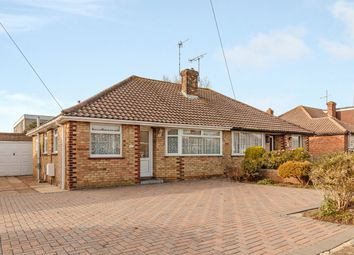 Thumbnail 2 bed semi-detached bungalow for sale in Crown Road, Shoreham-By-Sea, West Sussex