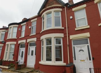 Thumbnail 3 bed terraced house to rent in Wharncliffe Road, Liverpool, Merseyside