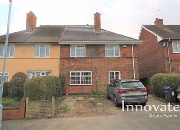 Thumbnail 4 bed semi-detached house for sale in Plimsoll Grove, Quinton, Birmingham
