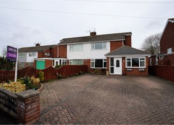 Thumbnail 4 bed semi-detached house for sale in Morpeth Grove, Bishop Auckland