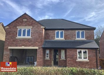 Thumbnail 4 bed detached house for sale in Manor Road, Folksworth, Peterborough