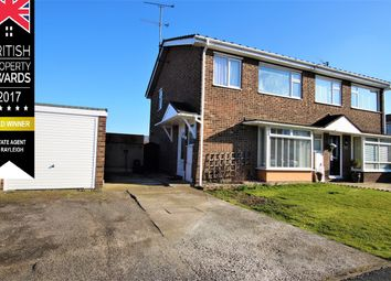 Thumbnail 3 bed semi-detached house for sale in Steeplefield, Leigh-On-Sea