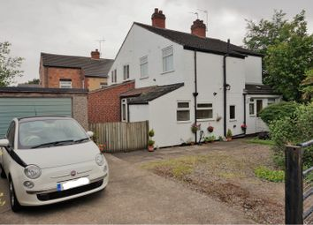 Thumbnail 2 bed semi-detached house for sale in Markfield Road, Groby, Leicester