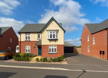 Thumbnail 4 bed detached house for sale in David Drive, West Haddon, Northampton