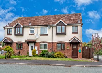 Thumbnail 2 bed end terrace house for sale in Hickory Court, Cannock