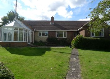 Thumbnail 4 bed detached bungalow to rent in Worlds End, Beedon, Newbury