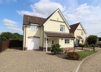 Thumbnail 4 bedroom detached house for sale in The Parkins, Capel St. Mary, Ipswich