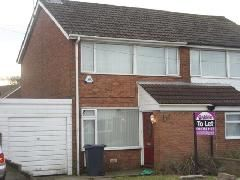 Thumbnail 3 bed semi-detached house to rent in Birks Drive, Bury
