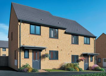 """Thumbnail 3 bed semi-detached house for sale in """"The Birch"""" at Field Road, Ramsey, Huntingdon"""