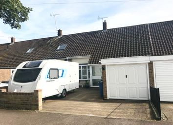 Thumbnail 2 bed terraced house for sale in Gaell Crescent, Hadleigh, Ipswich