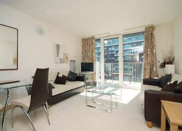 Thumbnail 2 bed flat to rent in Eustace Building, Chelsea Bridge Wharf, London