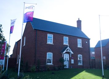 Thumbnail 5 bed detached house for sale in Brockhall Road, Flore, Northampton