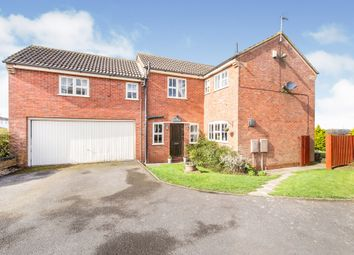Thumbnail 4 bed detached house for sale in The Wranglands, Fleckney, Leicester