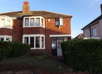 Thumbnail 3 bed semi-detached house for sale in Bentinck Avenue, Blackpool, Lancashire