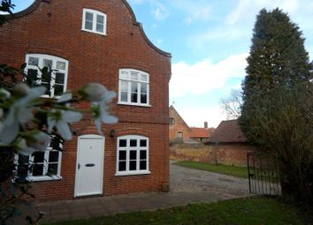 Thumbnail 3 bedroom cottage to rent in Rectory Lane, Mulbarton, Norwich