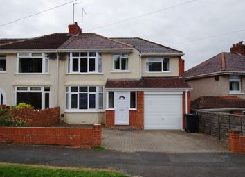 Thumbnail 4 bedroom semi-detached house for sale in Grosvenor Road, Swindon