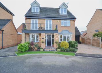 Thumbnail 5 bed detached house for sale in Horseshoe Way, Hampton Vale, Peterborough