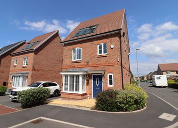 Thumbnail 4 bed detached house for sale in Malkins Wood Lane, Worsley, Manchester