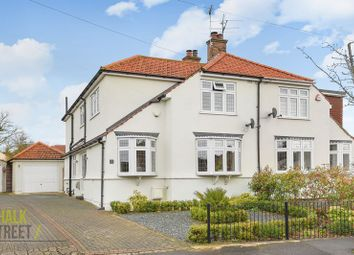 Thumbnail 4 bed semi-detached house for sale in Whitethorn Gardens, Hornchurch