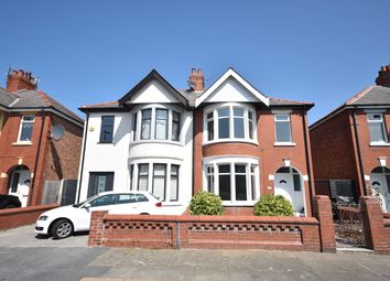 Thumbnail 3 bed semi-detached house to rent in Woodstock Gardens, Blackpool, Lancashire