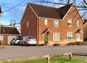 Thumbnail 4 bed semi-detached house for sale in Sunderland Gardens, Newbury
