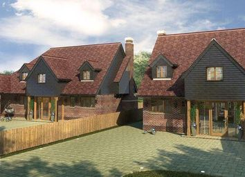 Thumbnail 5 bedroom detached house for sale in Crookham Hill, Crookham Common, Thatcham