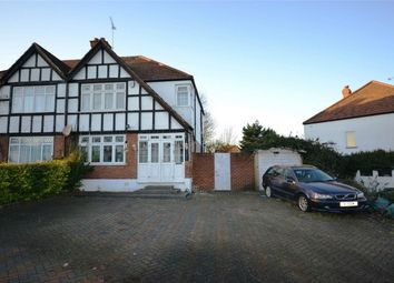 Thumbnail 3 bedroom semi-detached house for sale in Oldborough Road, Wembley, Middlesex
