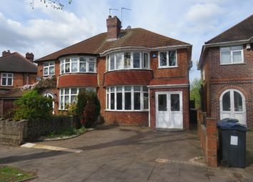 Thumbnail 3 bed semi-detached house for sale in Woodford Green Road, Hall Green, Birmingham